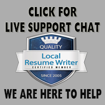resume writer in san francisco jenna anderson master resume writer - Certified Writer Resume